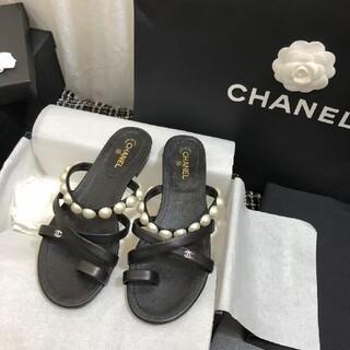 CHANEL - Chanel シャネル サンダル★38C
