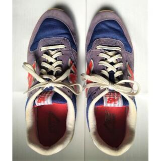 New Balance - ニューバランス 966 スニーカー  24.0cm ブルー