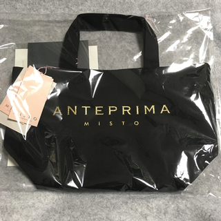 ANTEPRIMA - 【新品・未使用】キャンバストートバッグ(ブラック)