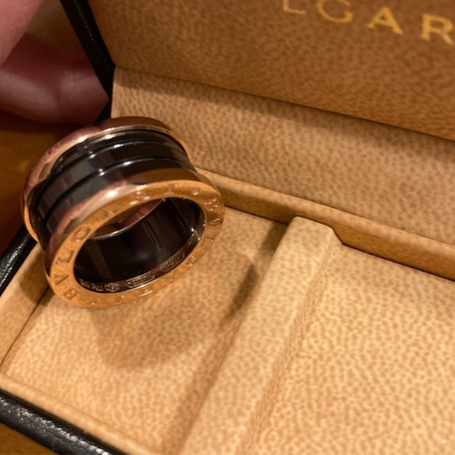 BVLGARI(ブルガリ)の美品ブルガリ リング ブラック レディースのアクセサリー(リング(指輪))の商品写真