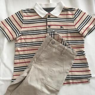 BURBERRY - バーバリー   ポロシャツとパンツ