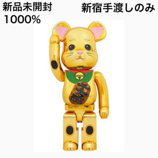 MEDICOM TOY - 【新品未開封】BE@RBRICK 招き猫 金メッキ 発光 1000%