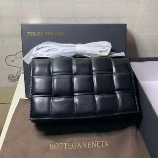 Bottega Veneta - BOTTEGA VENETA カセット ショルダーバッグ ブラック