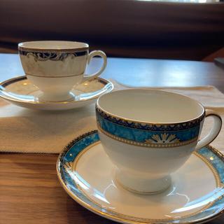 WEDGWOOD - ウェッジウッドコーヒーカップ2客
