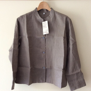 MUJI (無印良品) - 無印良品 フレンチリネン 洗いざらし シャツジャケット