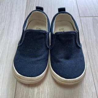 ベビー 靴 スリッポン スニーカー 14センチ(スリッポン)