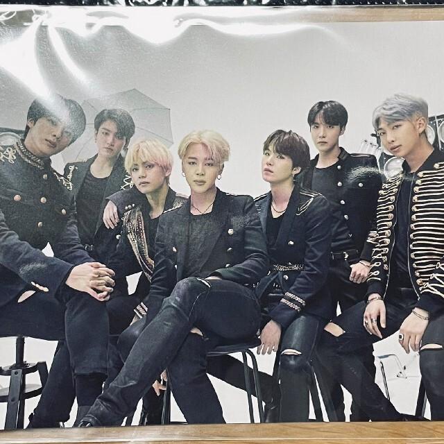 防弾少年団(BTS)(ボウダンショウネンダン)のBTS weverse特典ポストカード エンタメ/ホビーのCD(K-POP/アジア)の商品写真