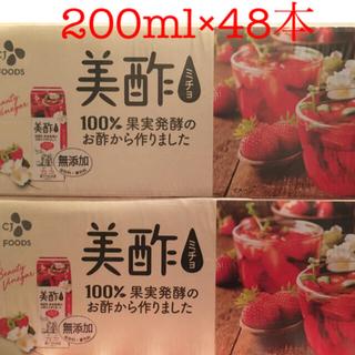 美酢 ミチョ いちごジャスミン ストレート48本(その他)