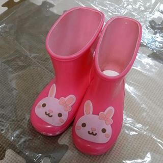 長靴 キッズ レインブーツ 13cm うさぎ うさこちゃん(長靴/レインシューズ)