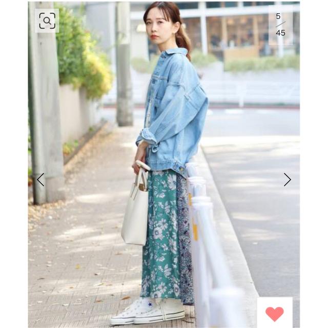 IENA(イエナ)のイエナ IENA Deveaux フラワープリントスカート  レディースのスカート(ロングスカート)の商品写真