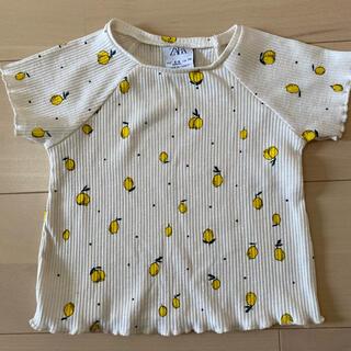 ZARA KIDS - ZARA Baby レモン柄Tシャツ 74cm