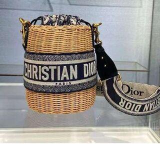 Christian Dior - DIOR WICKER  カゴバッグ バッグ