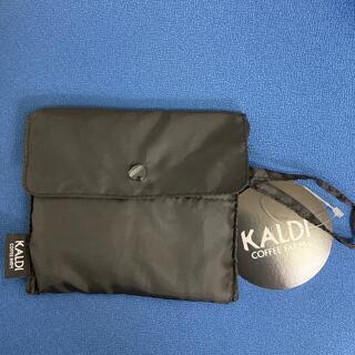 カルディ(KALDI)の新品★カルディ エコバッグ 黒(エコバッグ)