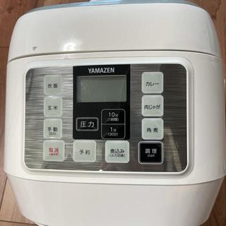 山善 - 電気圧力鍋 YAMAZEN YPCA-M250(W)