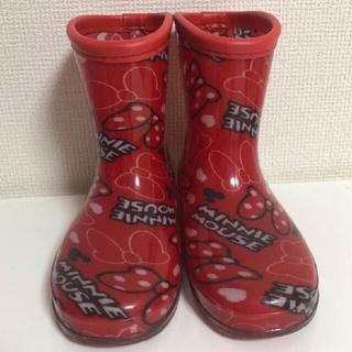 ディズニー(Disney)のミニー 長靴(長靴/レインシューズ)