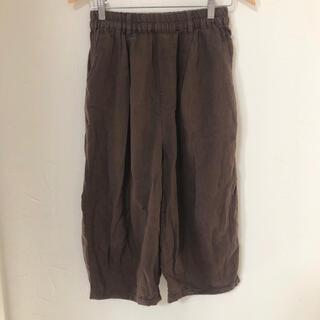サマンサモスモス(SM2)のSamansa Mos2 ブラウン ヒザデルパンツ パンツ(カジュアルパンツ)