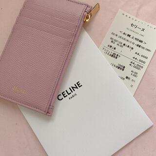 celine - セリーヌ カードケース ピンク 美品
