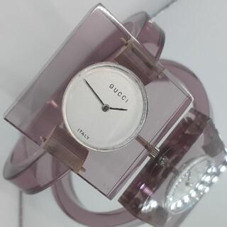グッチ(Gucci)の希少モデル 手巻き GUCCI グッチ レディース腕時計(腕時計)
