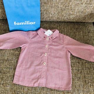 familiar - 新品ファミリアシャツ
