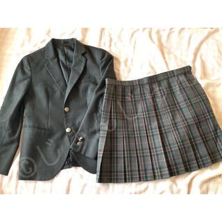 コスプレ 制服 衣装 ブレザー チェック プリーツ スカート