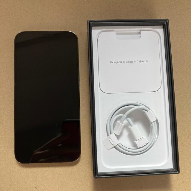 Apple(アップル)の【中古】Apple iPhone 12 Pro Max 256GB グラファイト スマホ/家電/カメラのスマートフォン/携帯電話(スマートフォン本体)の商品写真