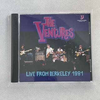 THE VENTURES - FROM BERKELEY 1981(ポップス/ロック(洋楽))