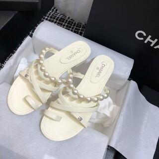 CHANEL - Chanel シャネル サンダル★37C