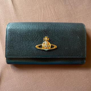 ヴィヴィアンウエストウッド(Vivienne Westwood)のヴィヴィアンウエストウッドブラック長財布(財布)