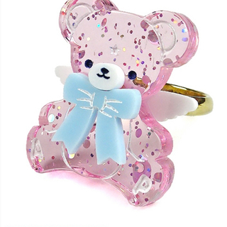 Angelic Pretty - Milky Bear リング  angelic pretty
