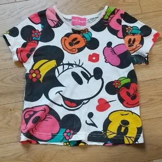 ディズニー(Disney)のディズニー ミニー Tシャツ 110 ミッキー ディズニーリゾート 公式(Tシャツ/カットソー)