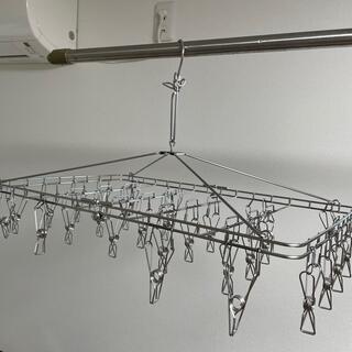 ムジルシリョウヒン(MUJI (無印良品))の洗濯物干し(押し入れ収納/ハンガー)