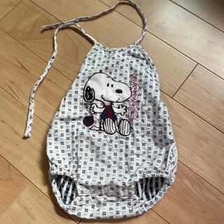 スヌーピー(SNOOPY)のBaby浴衣風ロンパース(ロンパース)