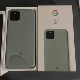 ANDROID - ⭐️新品未使用⭐️Pixel5 128G グリーン