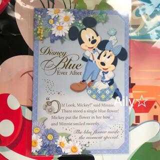 ディズニー(Disney)の新作♡ ブルーエバーアフター ポストカード ミッキー ミニー ディズニーリゾート(キャラクターグッズ)