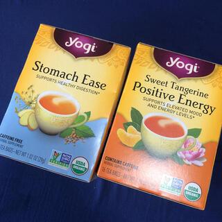 Yogi tea ヨギティー ポジティブエナジー ストマックイース 27包セット(茶)