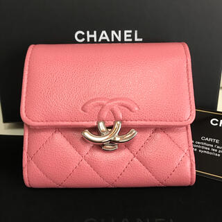 CHANEL - *未使用同様品*シャネル ミニ折財布