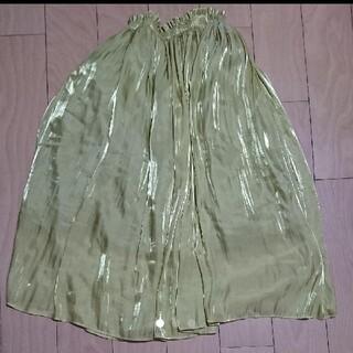 アクアガール(aquagirl)のアクアガール 光沢ロングスカート(ロングスカート)