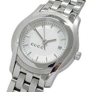 グッチ(Gucci)のグッチ GUCCI 時計 5500L クオーツ デイト レディース(腕時計)