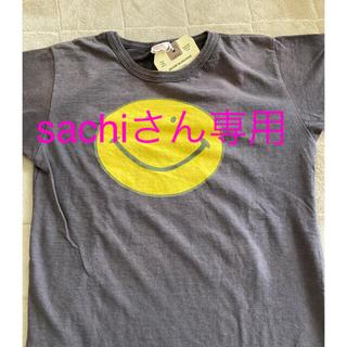 デニムダンガリー(DENIM DUNGAREE)のDENIM DUNGAREEダメージスマイルTシャツ+ミッキーT(Tシャツ(半袖/袖なし))