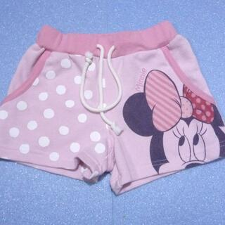 ディズニー(Disney)のディズニー ミニーちゃんのショートパンツ サイズ110 <748>(パンツ/スパッツ)