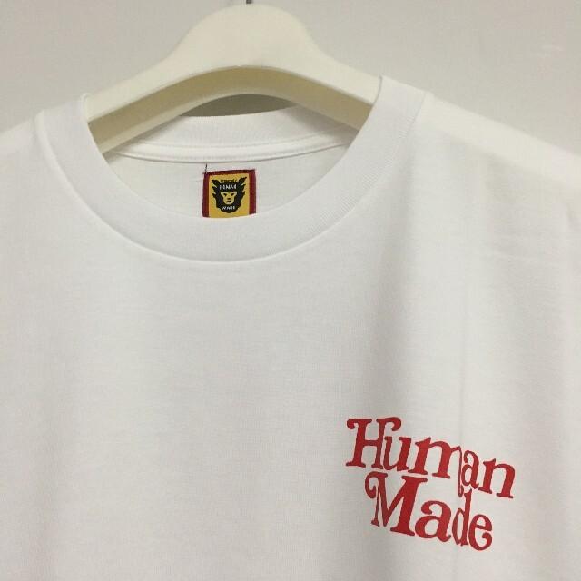 GDC(ジーディーシー)のHUMAN MADE girls don't cry Tシャツ   M メンズのトップス(Tシャツ/カットソー(半袖/袖なし))の商品写真
