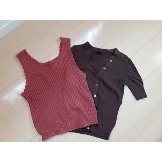 アパートバイローリーズ(apart by lowrys)の夏便利なトップスセット(Tシャツ(半袖/袖なし))