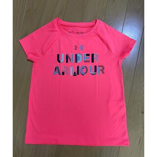アンダーアーマー(UNDER ARMOUR)のアンダーアーマー YSM ピンク Tシャツ(Tシャツ/カットソー)
