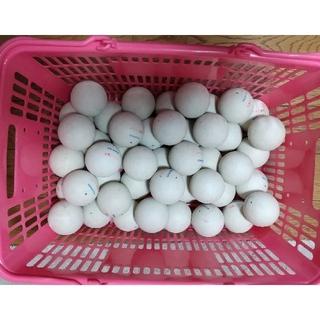 ナガセケンコー(NAGASE KENKO)のソフトテニスボール50球(中古品)(ボール)