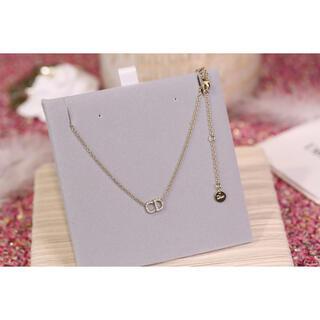 Dior - 定番 クリスチャンディオール  ゴールド ネックレス