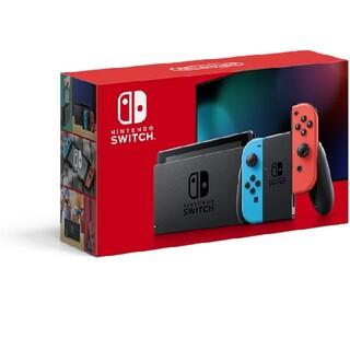 Nintendo Switch - 新型 Nintendo Switch  Joy-Con  ネオンブルー レッド