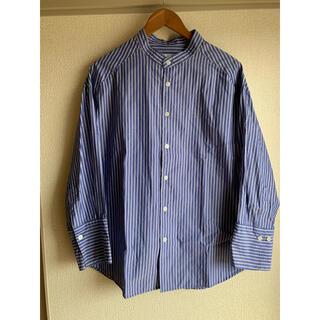 チャオパニックティピー(CIAOPANIC TYPY)のCIAOPANICTYPY  ストラップ ノーカラーシャツ(シャツ/ブラウス(長袖/七分))
