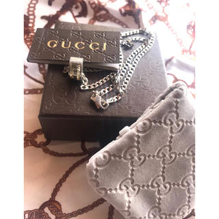 Gucci - GUCCI Gリングネックレス 正規店クリーニング済