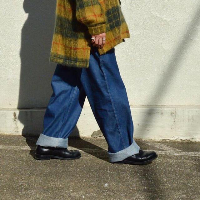 1LDK SELECT(ワンエルディーケーセレクト)のE.TAUTZ SAVILE ROW メンズのパンツ(デニム/ジーンズ)の商品写真