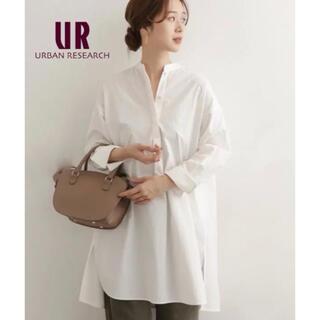DOORS / URBAN RESEARCH - 【URBAN RESEARCH DOORS】コットンスタンドチュニックシャツ